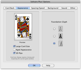 Help For Solitaire Plusfor Mac